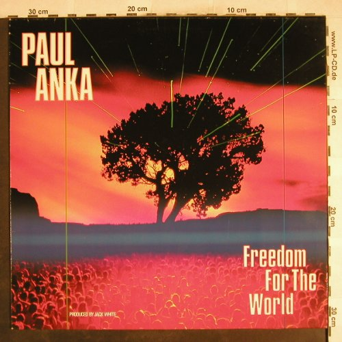Anka,Paul: Freedom f.t.World*2/TooYoung to die, White Rec.(609 427), D, 1987 - 12inch - H7370 - 1,50 Euro