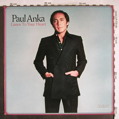 Anka,Paul: Listen To Your Heart, RCA(PL 12892), D, 1978 - LP - H7372 - 5,50 Euro