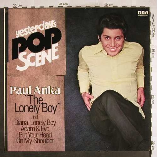 Anka,Paul: Yesterday's Pop Scene, Ri, RCA(NL 89206), D, 1972 - LP - H7373 - 5,00 Euro