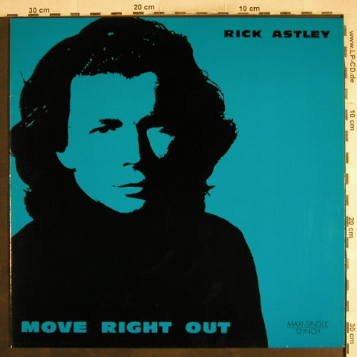 Astley,Rick: Move Right Out*3, RCA(PT 44408), D, 1991 - 12inch - H7378 - 1,50 Euro
