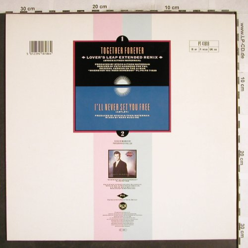 Astley,Rick: Together Forever+1, RCA(PT 41818), D, 1988 - 12inch - H7383 - 2,00 Euro