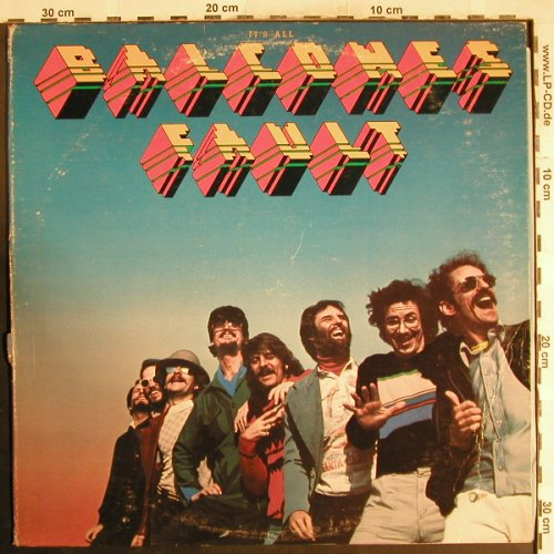 Balcones Fault: Same, m-/vg+, co, Cream(CR-1004), US, 1977 - LP - H7393 - 4,00 Euro