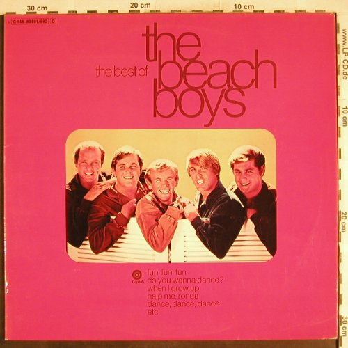 Beach Boys: The Best Of, Foc, Capitol(C 148-80891/892), D,  - 2LP - H7398 - 7,50 Euro