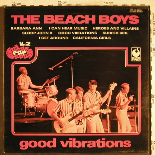 Beach Boys: Good Vibrations, Vol.2, Sounds Superb(2M048-52045), F, 1975 - LP - H7403 - 5,00 Euro