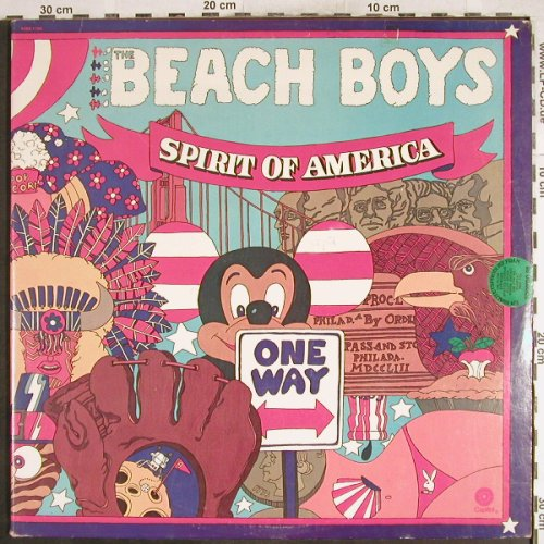Beach Boys: Spirit Of America,Foc, Capitol(SVBB-11384), US m-/vg+, 1975 - 2LP - H7406 - 7,50 Euro