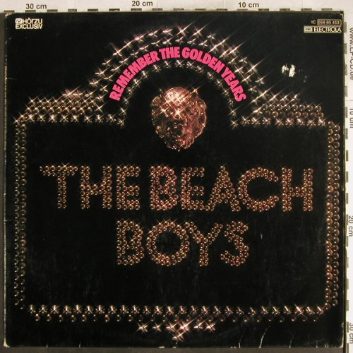Beach Boys: Remember The Golden Years, m-/vg+, Capitol/HörZu(056-85 453), D,  - LP - H7408 - 4,00 Euro