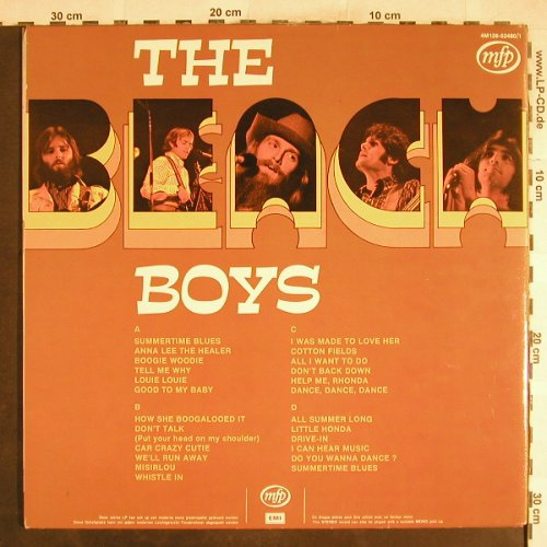Beach Boys: 24 Original Hits,Foc, m /vg+, MFP(4M126-52480), B,  - 2LP - H7411 - 6,50 Euro