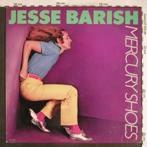Barish,Jesse: Mercury Shoes, RCA(AFL1-3420), US, 1980 - LP - H7413 - 6,00 Euro