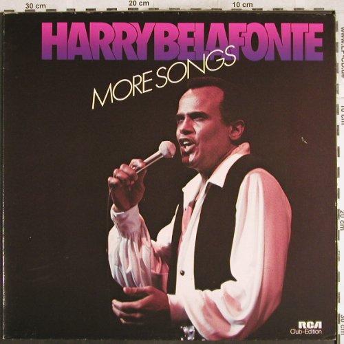 Belafonte,Harry: More Songs, Club Sonderauflage, RCA(34 199 0), D, 1978 - LP - H7474 - 6,00 Euro