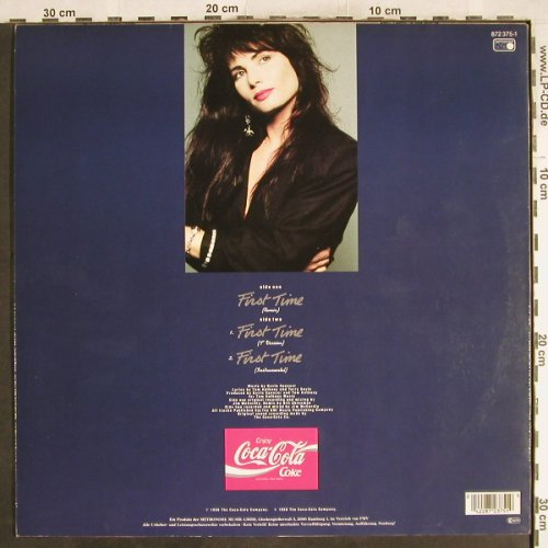 Beck,Robin: First Time*3, Coca Cola Edition, Metronome(872 375-1), D, 1988 - 12inch - H7480 - 3,00 Euro
