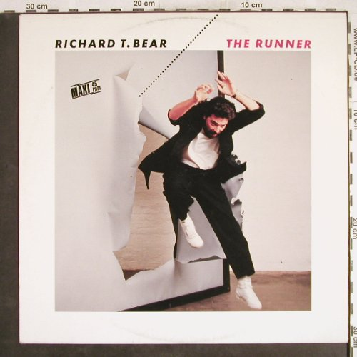 Bear,Richard T.: The Runner+2, orange Vinyl, Teldec(6.20486 AE), D, 1985 - 12inch - H7484 - 2,00 Euro