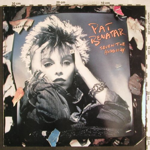 Benatar,Pat: Seven The Hard Way, Chrysalis(OV 41507), US,Co, 1985 - LP - H7490 - 5,00 Euro