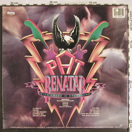 Benatar,Pat: Wide Awake In Dreamland, Chrysalis(OV 41628), US,co, 1988 - LP - H7491 - 5,00 Euro