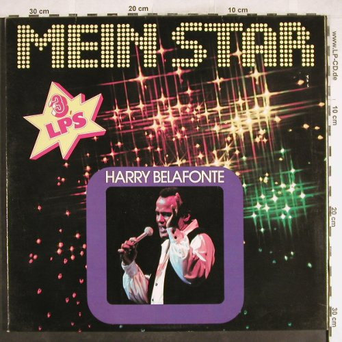 Belafonte,Harry: Mein Star, Foc, Club Edition, RCA(34 749 2), D,  - 3LP - H7496 - 9,00 Euro