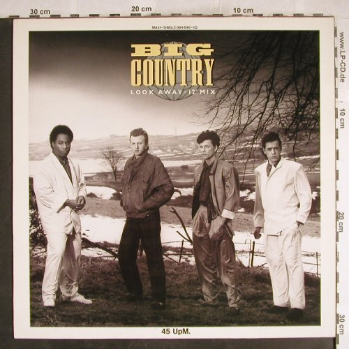 "Big Country: Look Away*2+1-12"" Mix, Mercury(884 698-10), D, 1986 - 12inch - H7521 - 2,50 Euro"