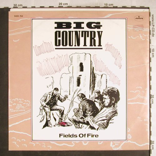 Big Country: Fields Of Fire *2 / Angel Park, Mercury(6400 754), D, 1983 - 12inch - H7522 - 3,00 Euro