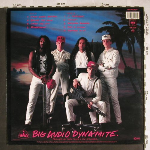 Big Audio Dynamite: No.10, Upping St., CBS(CBS 450137 1), NL, 1986 - LP - H7523 - 6,00 Euro
