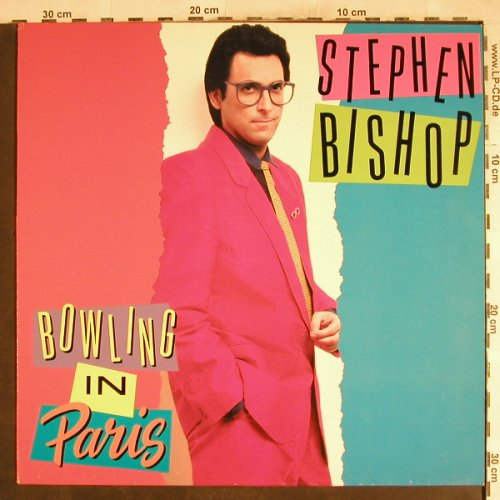 Bishop,Stephen: Bowling In Paris, Atlantic(781 970-1), D, 1989 - LP - H7527 - 6,00 Euro