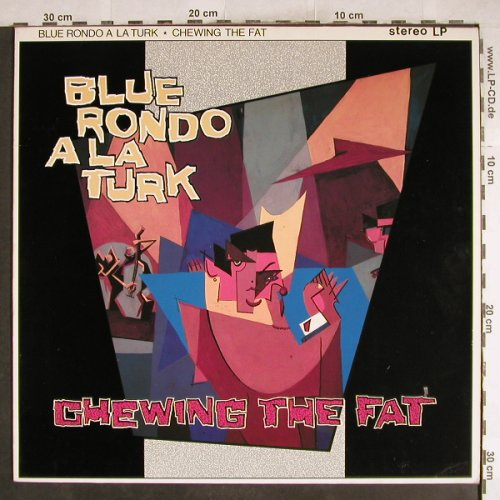 Blue Rondo A La Turk: Chewing The Fat, Virgin(205 083-270), D, 1982 - LP - H7528 - 5,50 Euro