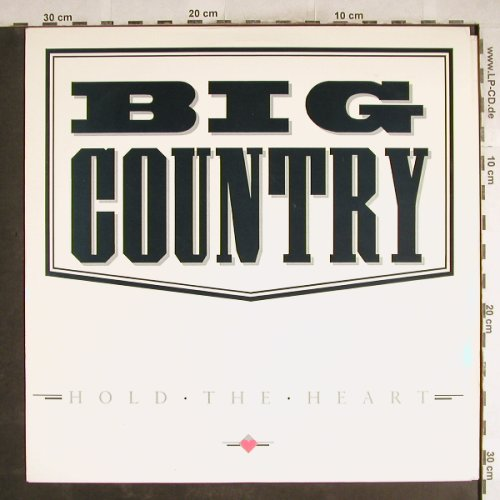 Big Country: Hold the Heart*2/Honky Tonk Woman, Phonogram(BIG CX 4), UK, 1986 - 12inch - H7544 - 3,00 Euro