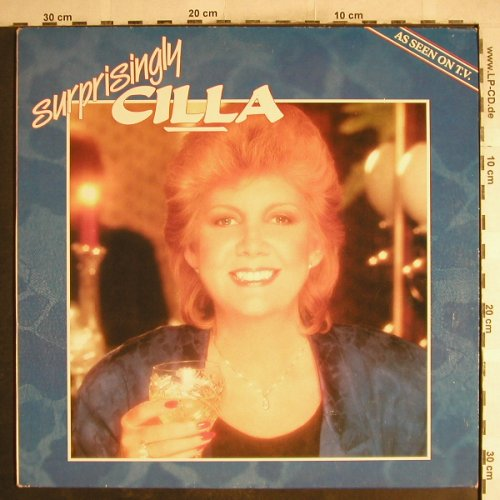 Black,Cilla: Surprisingly Cilla, Towerbell Records(TOWLP 14), UK, 1985 - LP - H7545 - 5,00 Euro