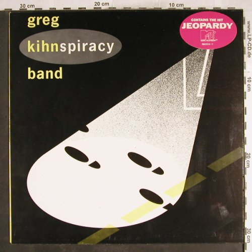 Kihn Band,Greg: Kihnspiracy, Beserkley(960 224-1), GR, 1983 - LP - H7546 - 5,00 Euro