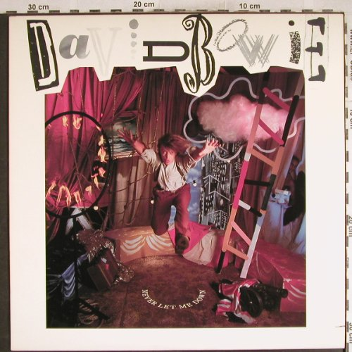 Bowie,David: Never Let Me Down, EMI(PJ-17267), US, co, 1987 - LP - H7569 - 5,00 Euro