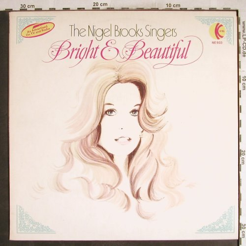 Brooks Singers,Nigel: Bright & Beautiful, K-tel(NE 933), UK,  - LP - H7579 - 5,50 Euro