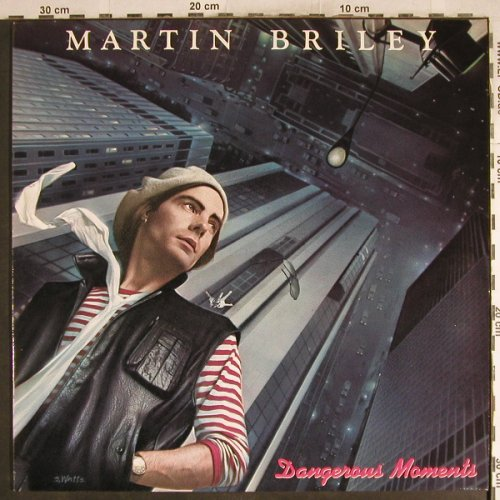 Briley,Martin: Dangerous Moment, Mercury(822 423-1 Q), D, 1984 - LP - H7581 - 6,00 Euro