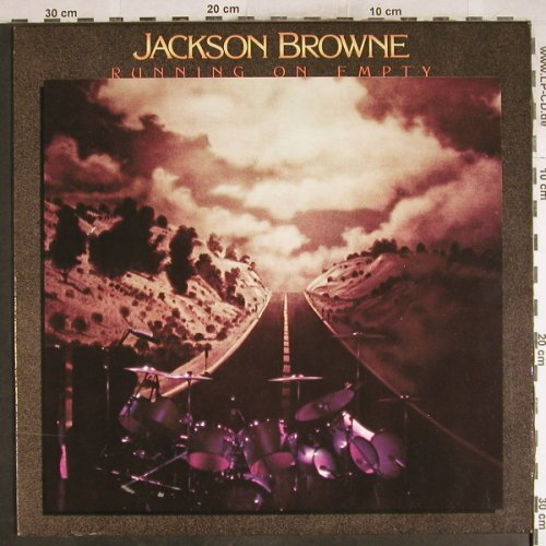Browne,Jackson: Running On Empty, Asylum(AS 53 070), D, 1977 - LP - H7596 - 5,00 Euro