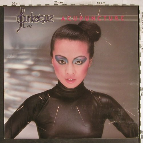 Burlesque: Acupuncture Live, Arista(ARTY 151), UK, 1977 - LP - H7597 - 7,50 Euro