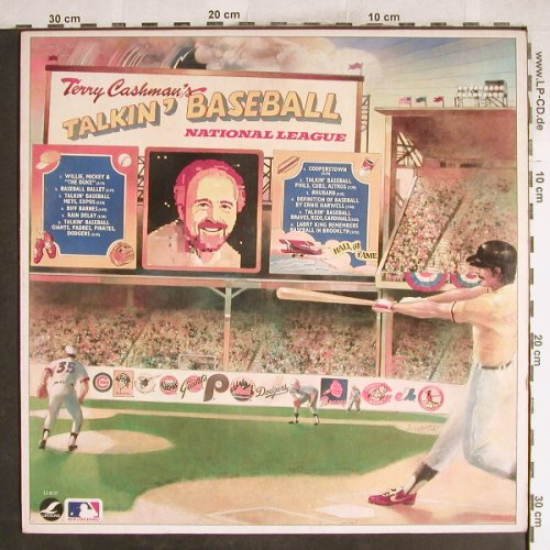 Cashman,Terry / Talkin'Baseball: National League, Lifesong(LS-8137), US, 1982 - LP - H7641 - 5,00 Euro