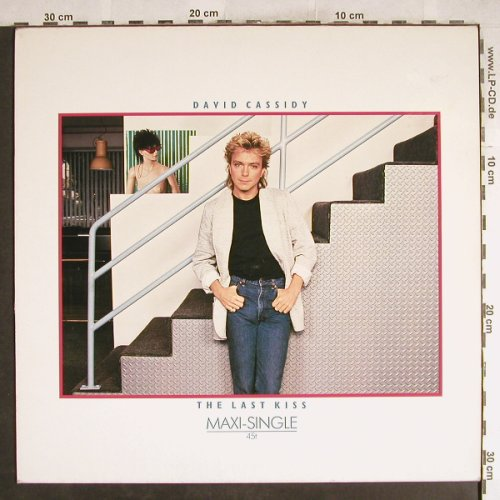 Cassidy,David: The Last Kiss+1, Arista(601 653-213), D, 1985 - 12inch - H7650 - 1,00 Euro