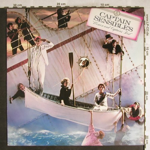 Captain Sensible: Women And Captains First, AM(LH 68548), NL, 1982 - LP - H7656 - 5,50 Euro