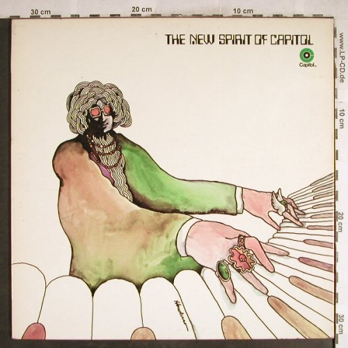 V.A.New Spirit Of Capitol: Ronstadt,Pink Floyd,The Sons, Foc, Capitol(SNP-6), US,  - LP - H7660 - 7,50 Euro