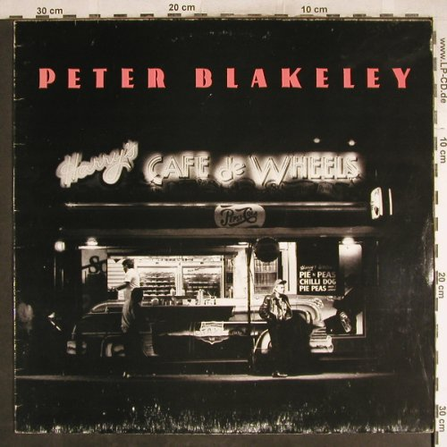 Blakeley,Peter: Harry's Cafe de Wheels, m-/vg+, Capitol(7 90412 1), D, 1989 - LP - H7678 - 4,00 Euro