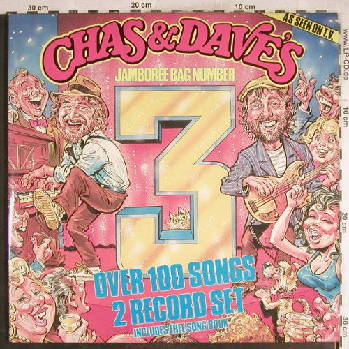 Chas & Dave: Jamboree Bag No.3, Foc, Rockney(ROC 914), UK, 1985 - 2LP - H7695 - 6,00 Euro