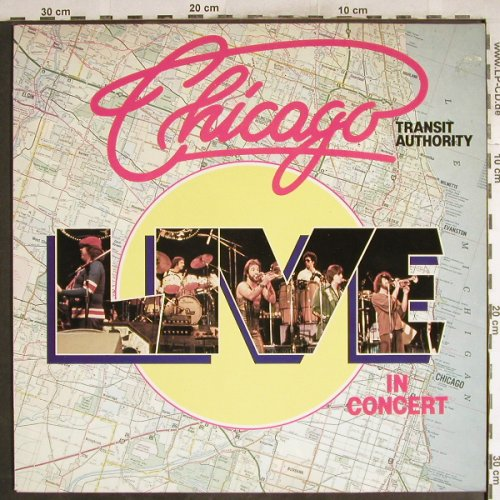 Chicago: Transit Authotity-Live In Concert, Happy Bird(90105), D,  - LP - H7698 - 5,00 Euro