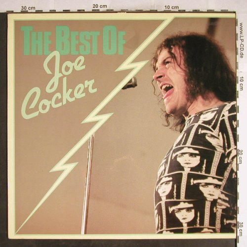 Cocker,Joe: The Best Of, m-/vg+, Cube(INT 136.308), D, 1980 - LP - H7733 - 5,00 Euro