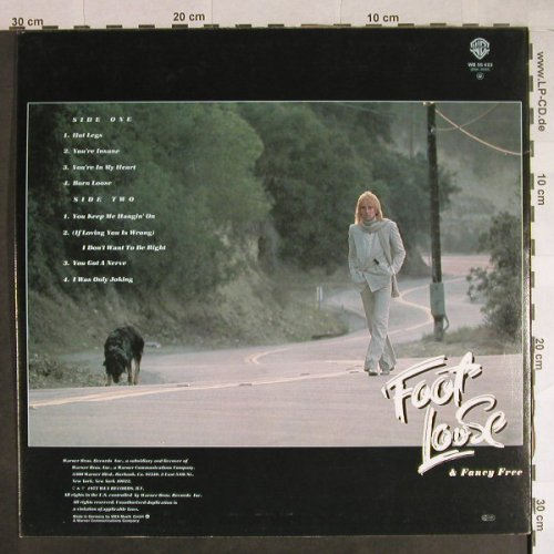 Stewart,Rod: Foot Loose & Fancy Free+Booklet, WB(56 423), D, 1977 - LP - H780 - 5,50 Euro