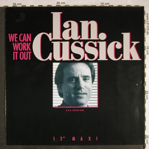 Cussick,Ian: We Can Work It Out/Finale, SPV(01-8812), D, 1988 - 12inch - H7823 - 1,00 Euro