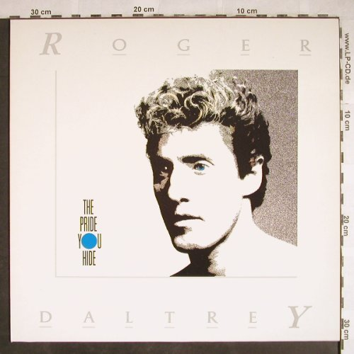 Daltrey,Roger: The Pride You Hide+2, Virgin(608 262-213), D, 1986 - 12inch - H7831 - 3,00 Euro