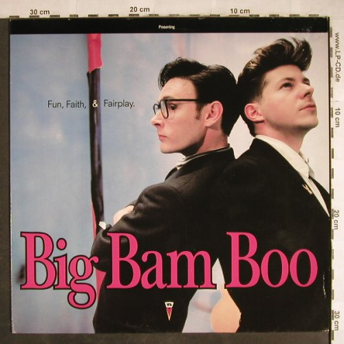 Big Bam Boo: Fun,Faith & Fairplay, MCA(256 006-1), D, 1989 - LP - H7838 - 4,00 Euro