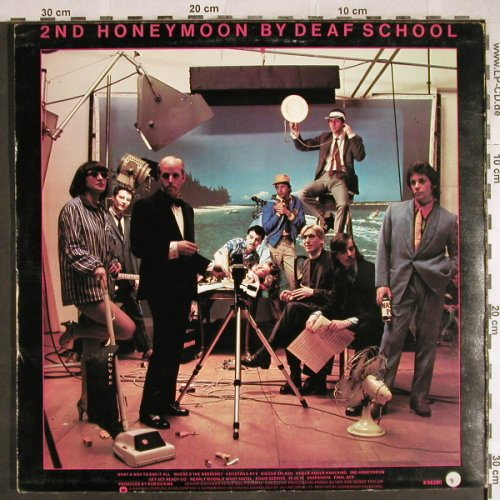 Deaf School: 2nd Honeymoon By, WB(K56280), UK, 1976 - LP - H7848 - 5,50 Euro