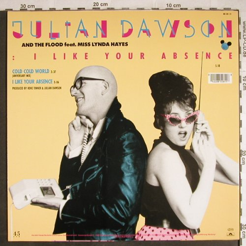 Dawson,Julian: I like your Absence/Cold Cold World, Polydor(885 581), D, 1987 - 12inch - H7861 - 1,00 Euro