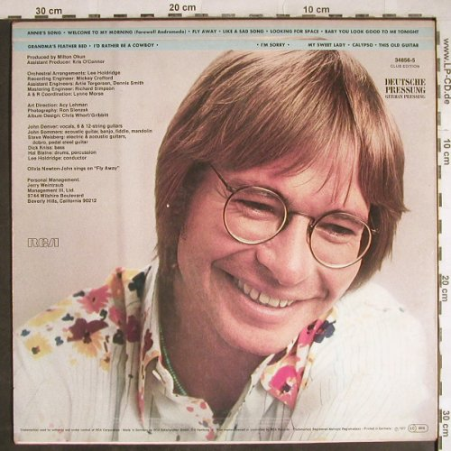 Denver,John: The Best Of, Club-Ed., RCA(34856-5), D, 1977 - LP - H7920 - 3,00 Euro