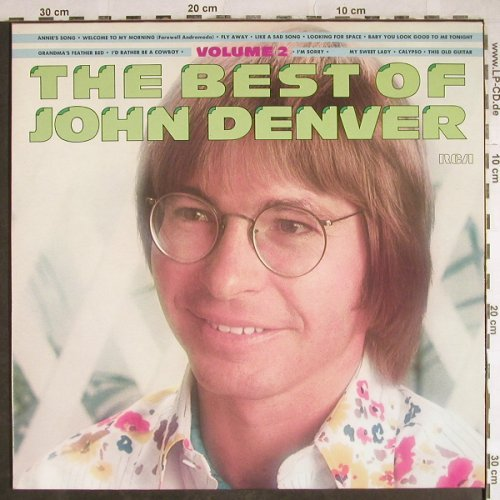 Denver,John: The Best Of Volume 2, RCA(PL 89189), D, Ri, 1977 - LP - H7921 - 5,00 Euro