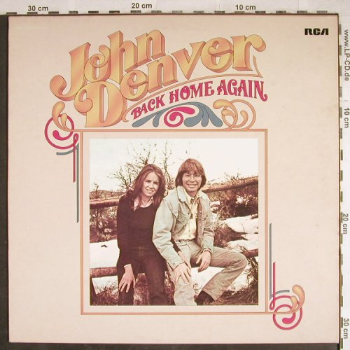 Denver,John: Back Home Again, RCA(26.21312), D, 1974 - LP - H7922 - 5,00 Euro