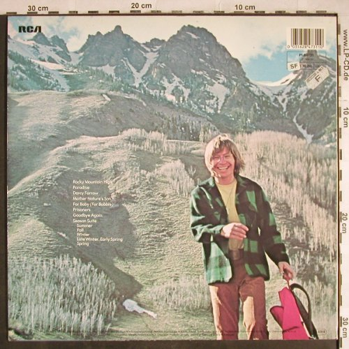 Denver,John: Rocky Mountain High, RCA(PL 84731), D, Ri, 1972 - LP - H7925 - 4,00 Euro