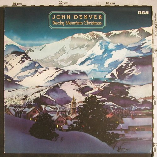 Denver,John: Rocky Mountain Christmas, RCA(26.21586 AS), D, 1975 - LP - H7926 - 5,50 Euro